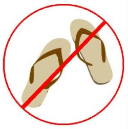 e23a4945f Sandals   Flip-Flops are NOT Allowed in School - News and ...